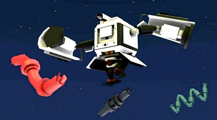 Eir, the TrashJumper, videojuego de Realidad Aumentada. Ciclo de Animación de eisv trabajos de alumnos de la escuela de imagen y sonido de vigo.