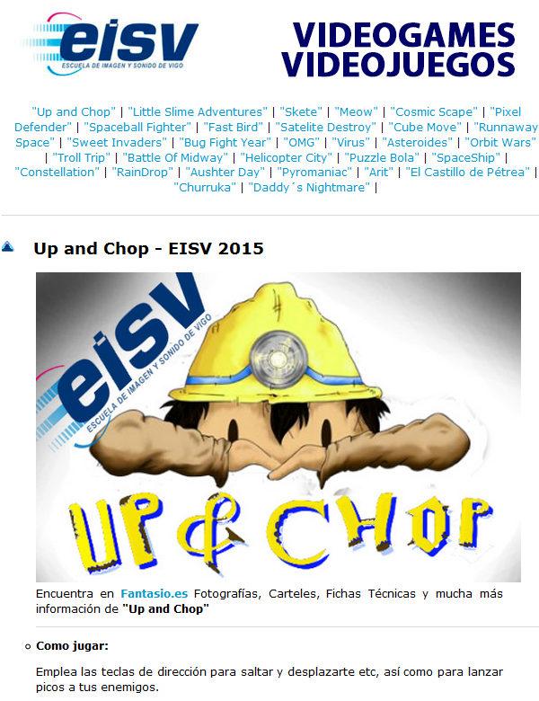 Ciclo de Animación de eisv trabajos de alumnos de la escuela de imagen y sonido de vigo.